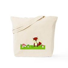 Woodland Fox Tote Bag