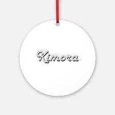 Kimora Classic Retro Name Design Ornament (Round)