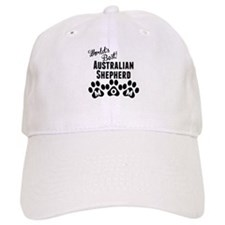 Worlds Best Australian Shepherd Mom Baseball Baseball Cap