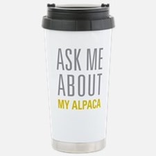 My Alpaca Stainless Steel Travel Mug