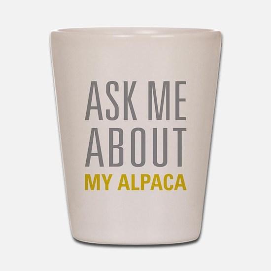 My Alpaca Shot Glass