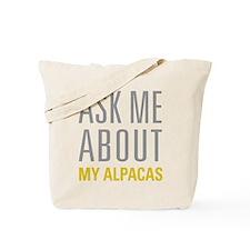 My Alpacas Tote Bag