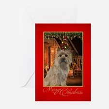 Cairn Terrier Christmas Greeting Cards