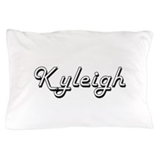 Kyleigh Classic Retro Name Design Pillow Case