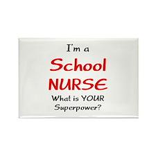 school nurse Rectangle Magnet (10 pack)