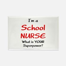 school nurse Rectangle Magnet (10 pack)