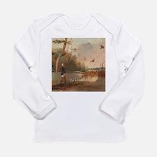 Pheasant Shooting Long Sleeve T-Shirt