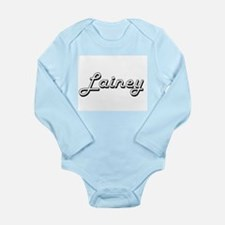 Lainey Classic Retro Name Design Body Suit