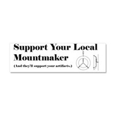 Mountmaker Car Magnet 10 x 3