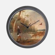 Pheasant Shooting Wall Clock