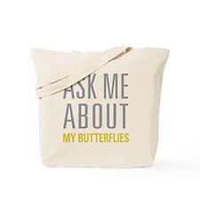 My Butterflies Tote Bag
