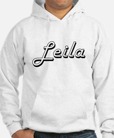 Leila Classic Retro Name Design Jumper Hoody