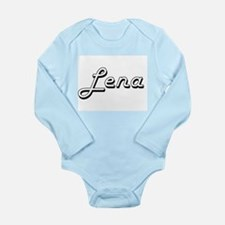 Lena Classic Retro Name Design Body Suit