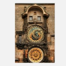 Astronomical Clock Postcards (Package of 8)