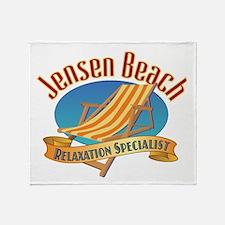 Jensen Beach - Throw Blanket