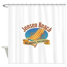 Jensen Beach - Shower Curtain