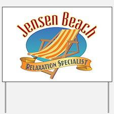 Jensen Beach - Yard Sign