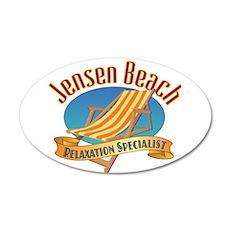 Jensen Beach - Wall Decal