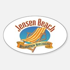 Jensen Beach - Decal