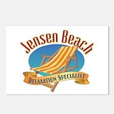 Jensen Beach - Postcards (Package of 8)