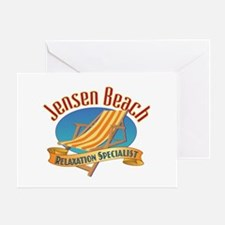 Jensen Beach - Greeting Card