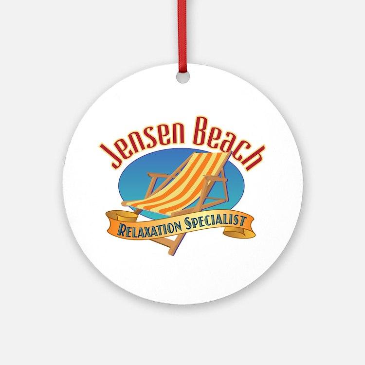 Jensen Beach - Ornament (Round)