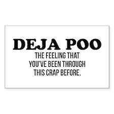 Deja Poo Decal