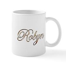 Gold Robyn Mugs