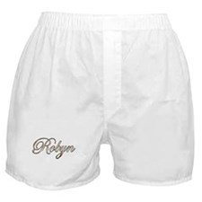 Gold Robyn Boxer Shorts