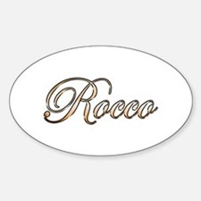 Gold Rocco Decal