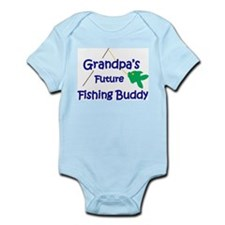 Grandpa's Future Fishing Buddy Body Suit
