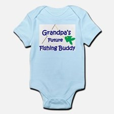 Grandpa's Future Fishing Buddy Body Suit