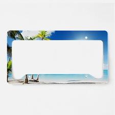 Paradise Corner License Plate Holder