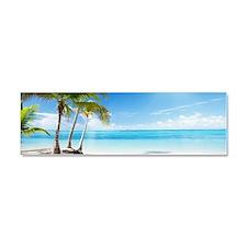 Paradise Corner Car Magnet 10 x 3