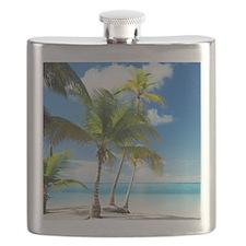 Paradise Corner Flask