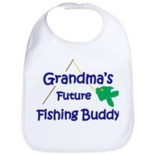 Grandma's Future Fishing Buddy Bib