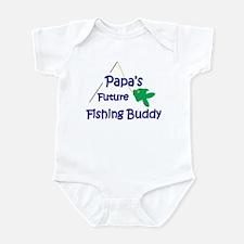 Papa's Future Fishing Buddy Body Suit