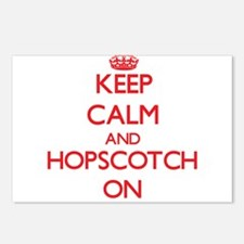 Keep Calm and Hopscotch O Postcards (Package of 8)