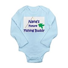 Nana's Future Fishing Buddy Body Suit