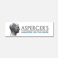 Asperger's Amazing Head Car Magnet 10 x 3