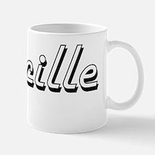 Lucille Classic Retro Name Design Mug