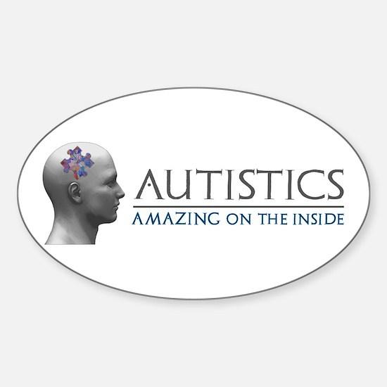 Autistics Amazing Head Decal