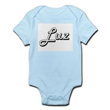 Luz Classic Retro Name Design Body Suit