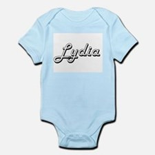 Lydia Classic Retro Name Design Body Suit