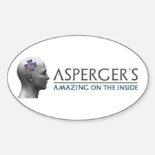 Asperger's Amazing Head Bumper Stickers