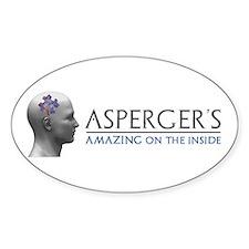 Asperger's Amazing Head Decal