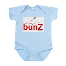kissmybunZ baby brand Logo Body Suit