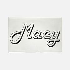 Macy Classic Retro Name Design Magnets
