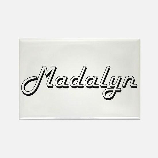 Madalyn Classic Retro Name Design Magnets