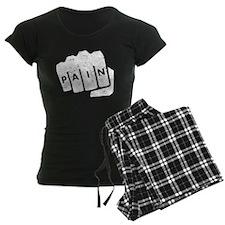 Pain Knuckle Tattoo (Distressed) Pajamas